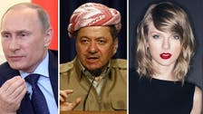 Kurdish president joins Taylor Swift in 2014 shortlist