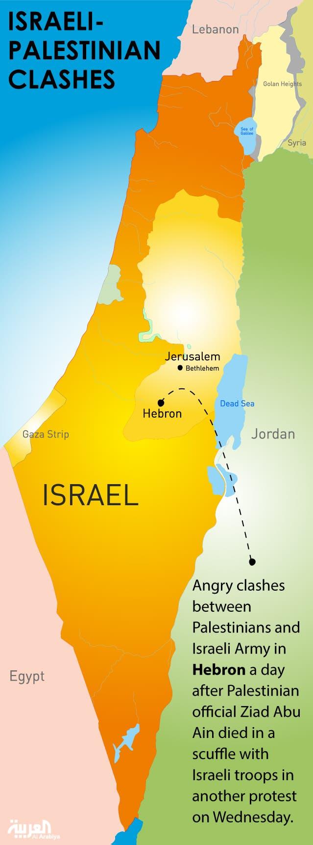 Infographic: Israeli-Palestinian clashes