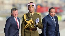 Egypt's Sisi marks first visit to Amman