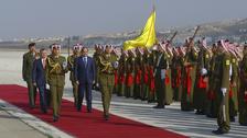 مصری صدر السیسی کی پہلے دورے پر عمان آمد