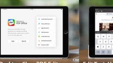 تطبيق مجاني لتعديل وإنشاء مستندات PDF على آيباد
