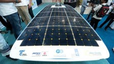 UAE students unveil $3 m solar car for January race