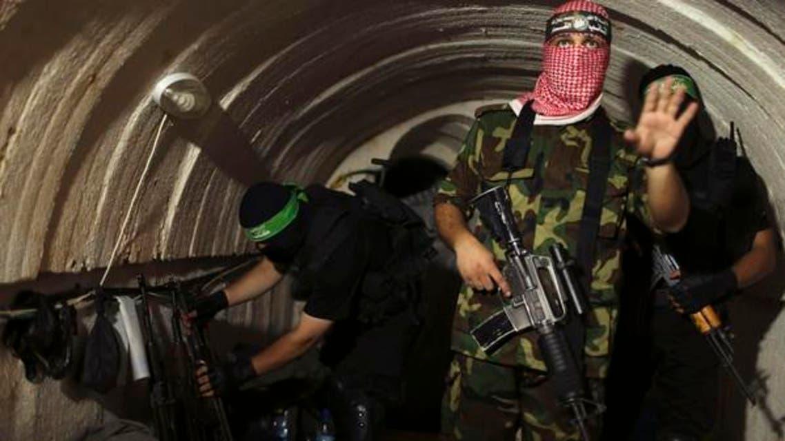 غزہ اور مصر کے درمیان موجود سرنگیں