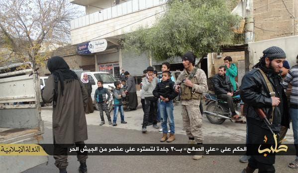 داعش في حلب 2