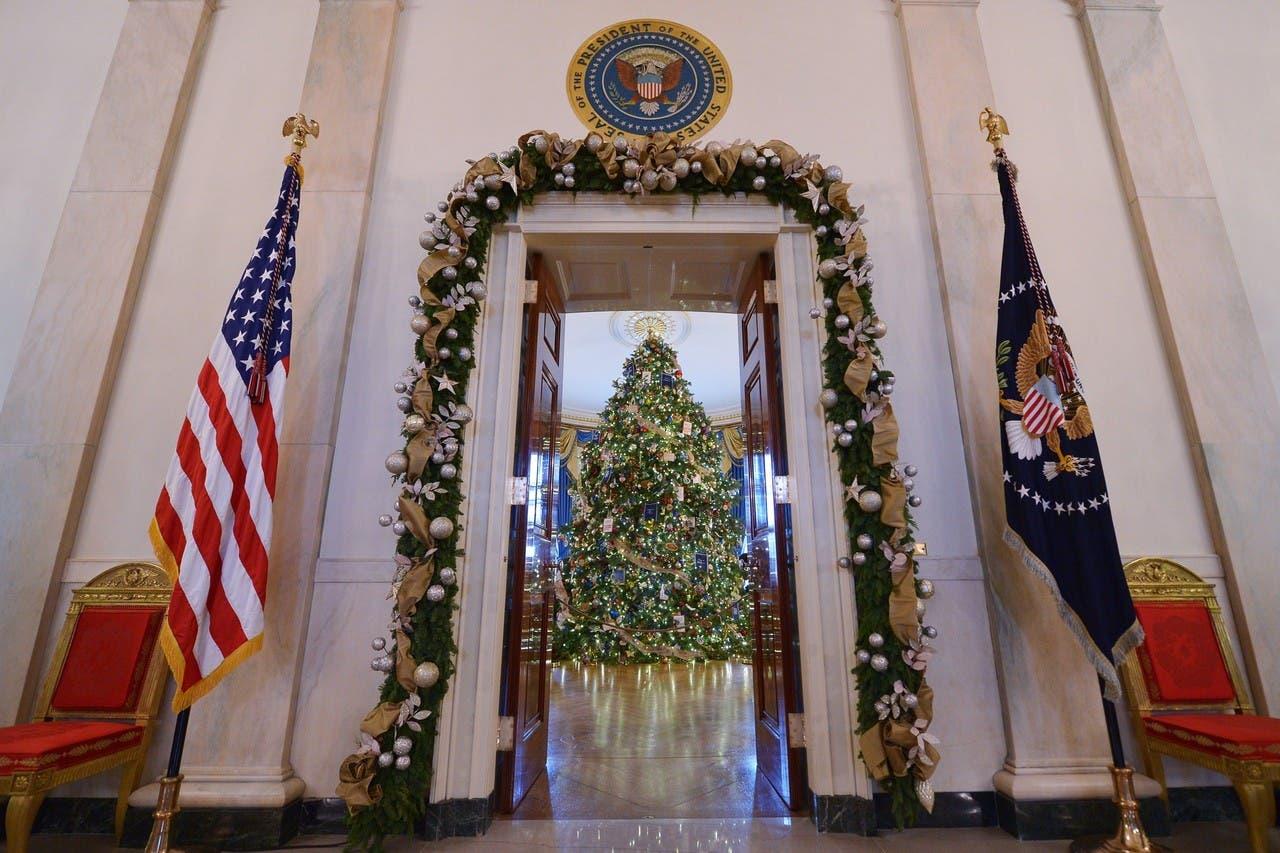 شجرة الميلاد في البيت الأبيض