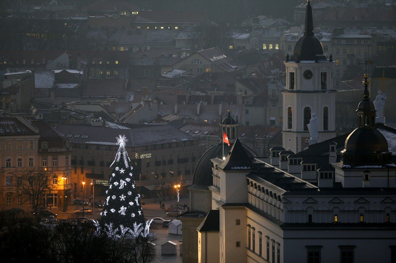 شجرة الميلاد في ليتوانيا