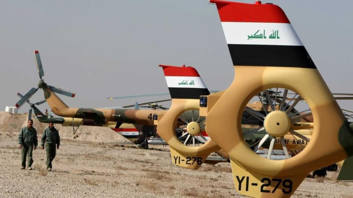 iraq helicopters afp