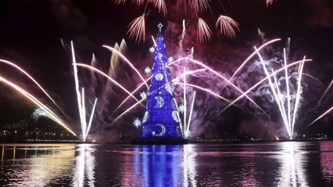 شجرة الميلاد في ريو دي جانيرو