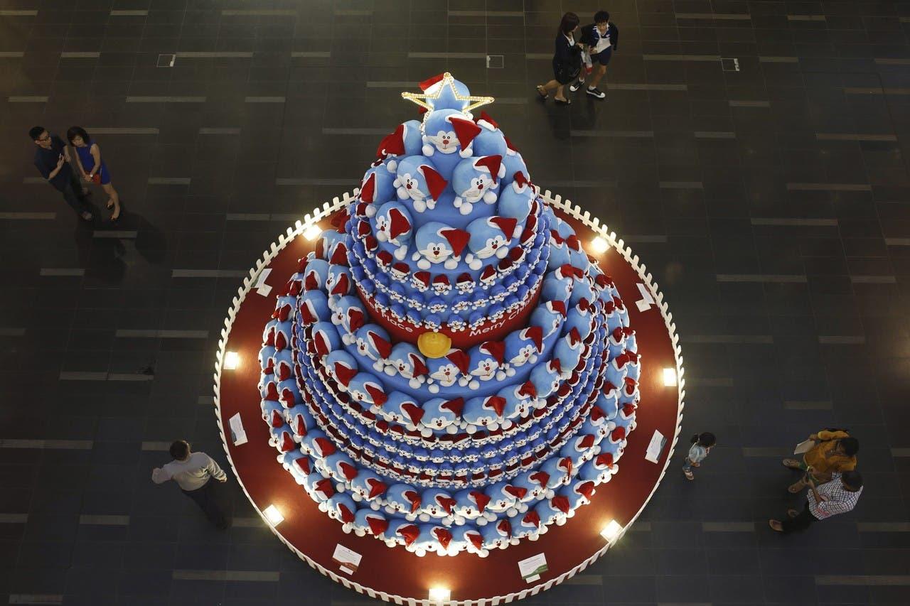 شجرة الميلاد في سنغافورة