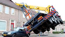 Dutchman tries to pop question, destroys house