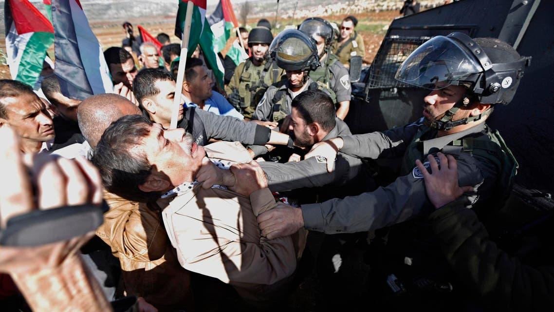 Palestinian minister Ziad Abu Ein Reuters Israel