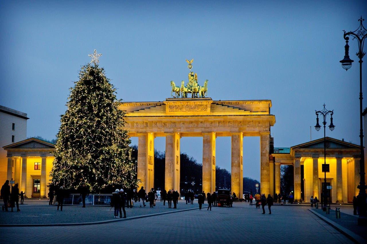 شجرة الميلاد في برلين