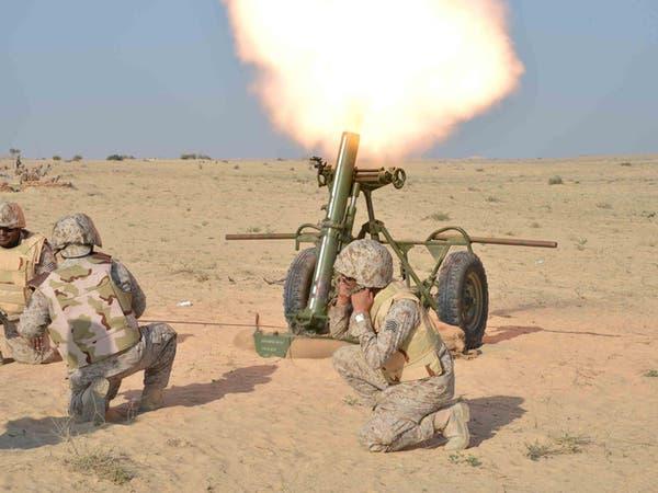 القوات السعودية تقصف مواقع حوثية لإطلاق الصواريخ