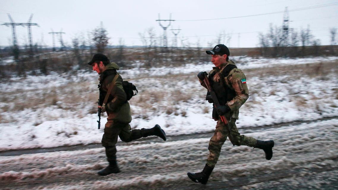 Chechen fighters join Ukrainian conflict