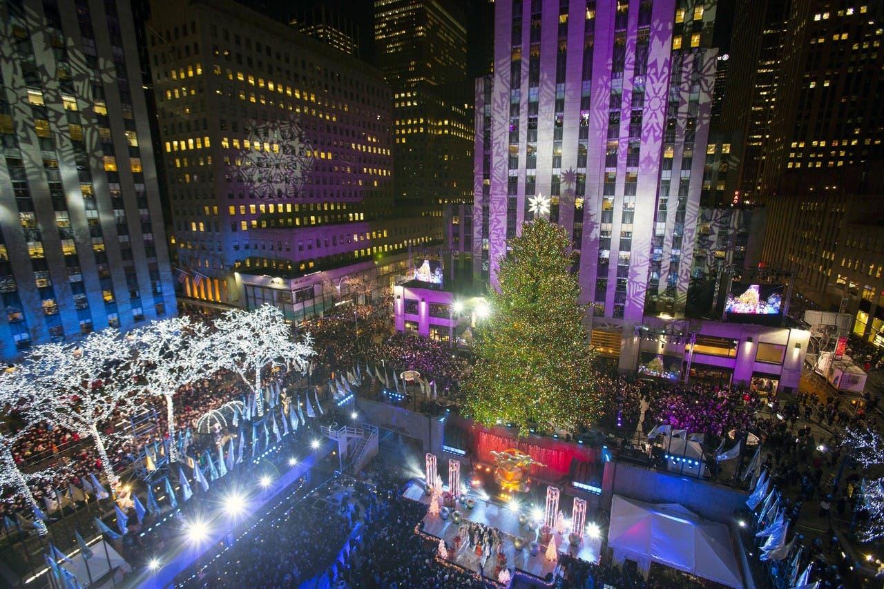 شجرة الميلاد في نيويورك