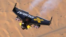 Is it a bird...? 'Jetman' seen in the skies of Dubai
