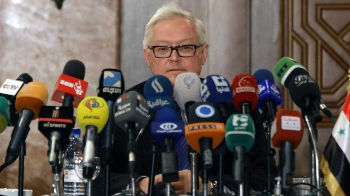 Russian Deputy Foreign Minister Sergei Ryabkov AFP