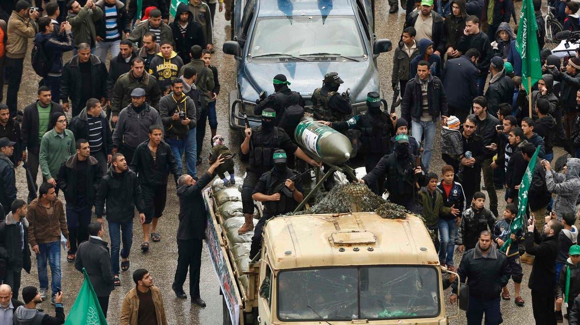 استعراض عسكري لحركة حماس في غزة