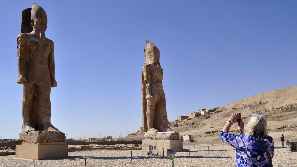 Pharaoh Amenhotep III AFP Egypt Archaeology