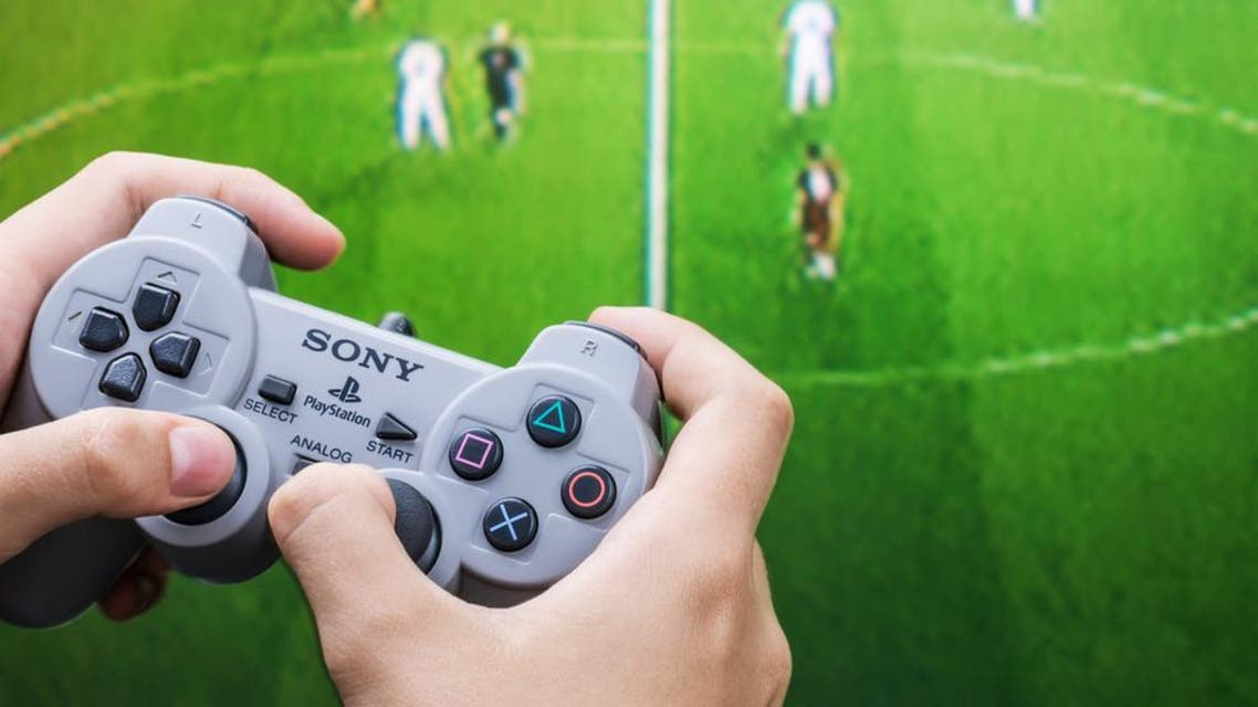 1 MAIN -   Two decades on from the original PlayStation 1, Sony's consoles  - loved by Arab gamers - are now in their fourth generation. (Shutterstock)