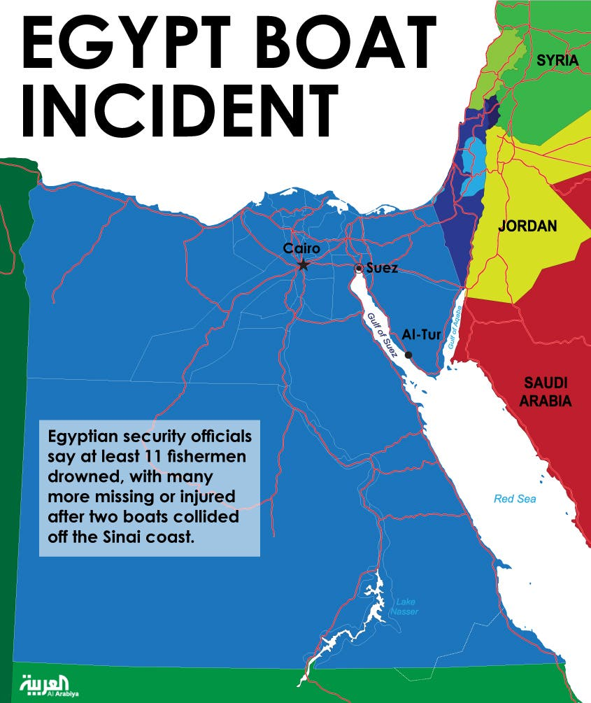 Infographic: Egypt Boat Incident