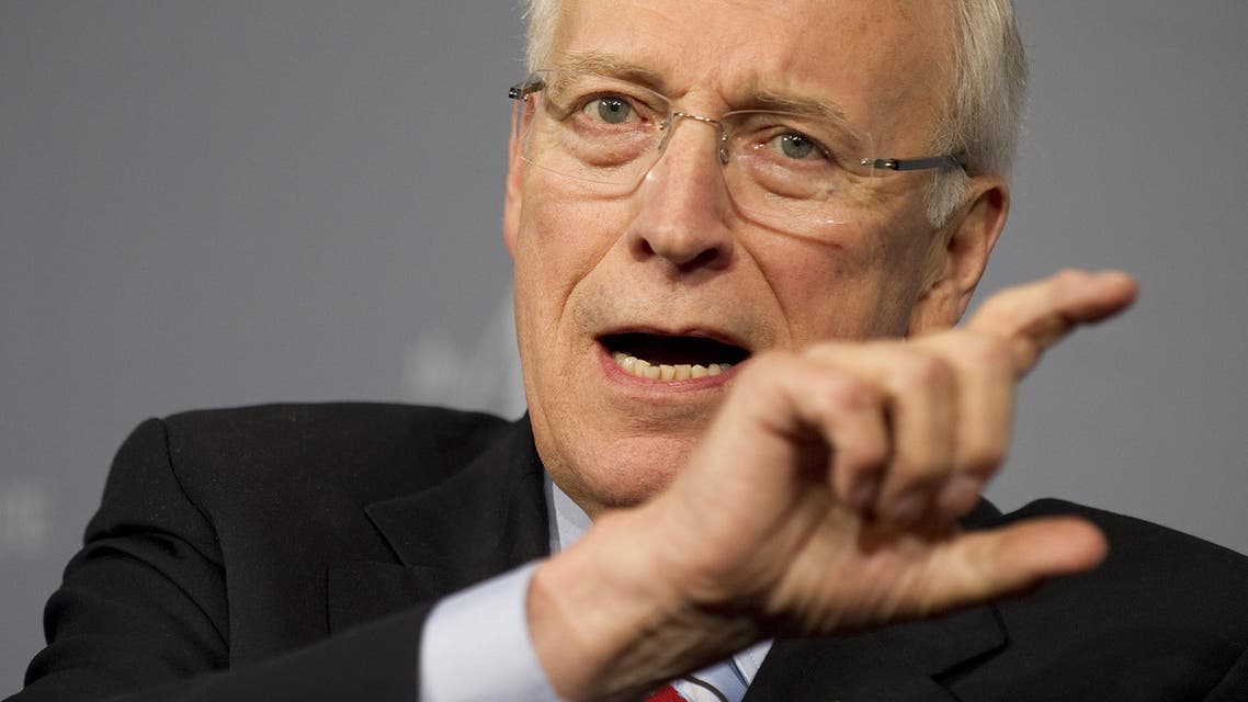 Former US Vice President Dick Cheney speaks during the 2011 Washington Ideas Forum at the Newseum in Washington, DC.  (File photo AFP)