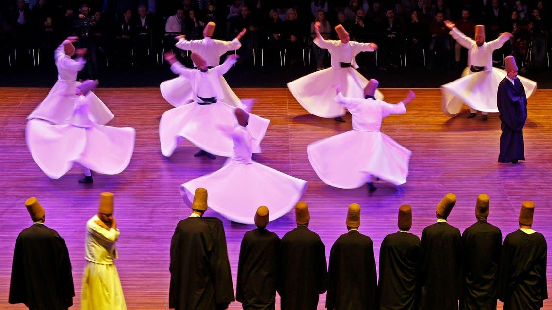 Istanbul dervish marking Rumi anniversary
