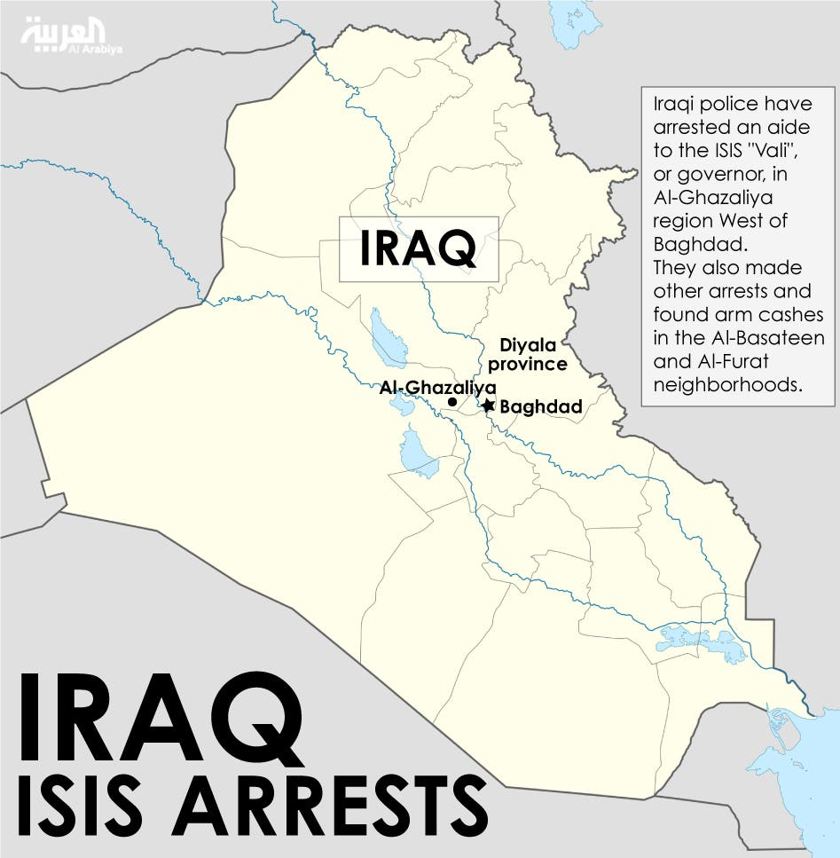 Infographic: Iraq ISIS arrests