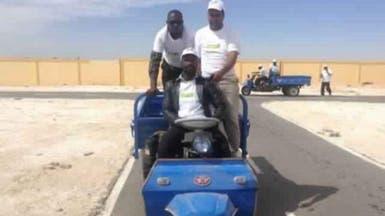 """حرب بين """"الحمير"""" و""""التوك توك"""" في موريتانيا"""