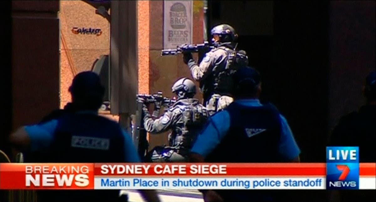 Australia hostage situation - Reuters