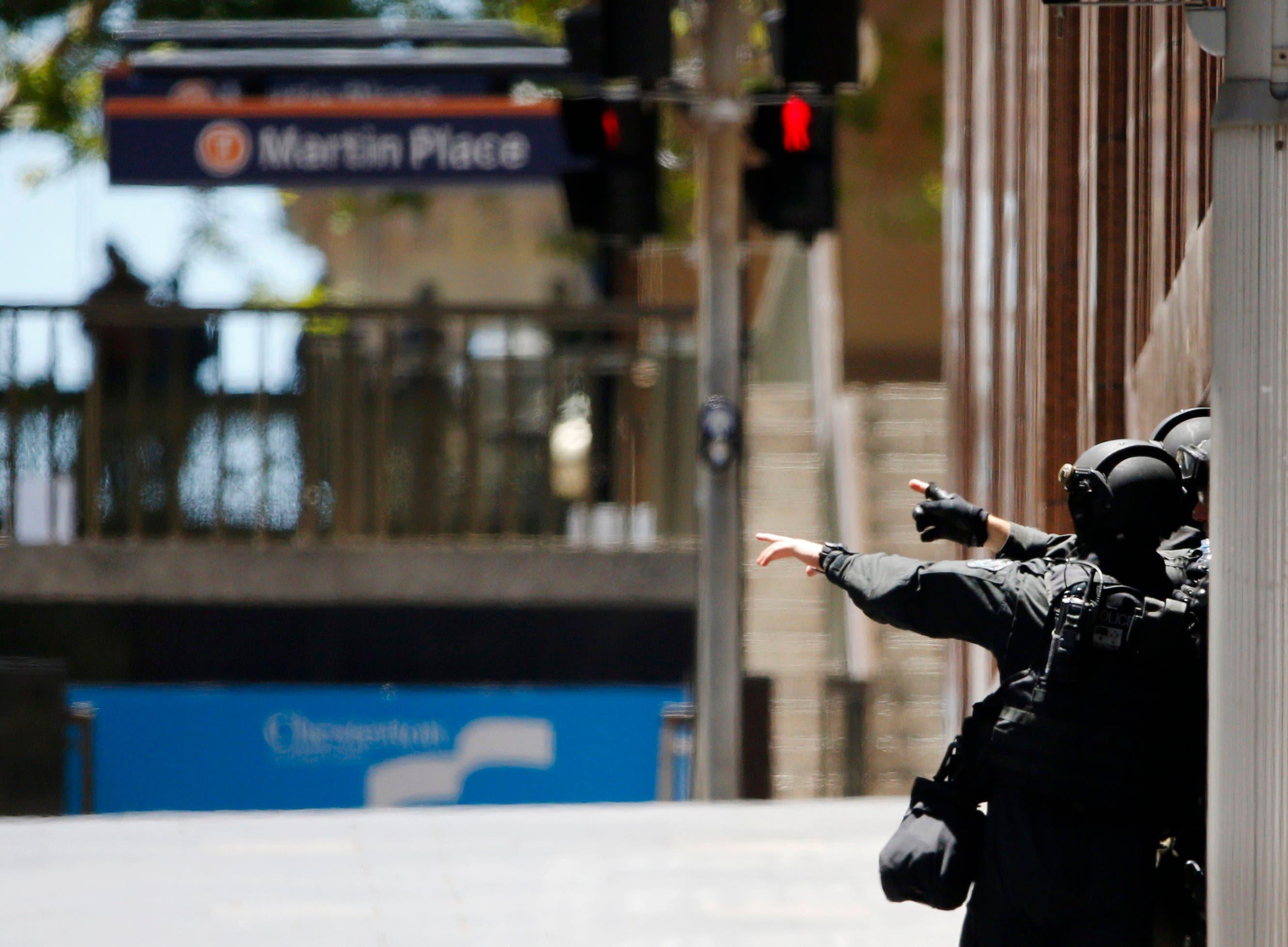 Australia hostage incident