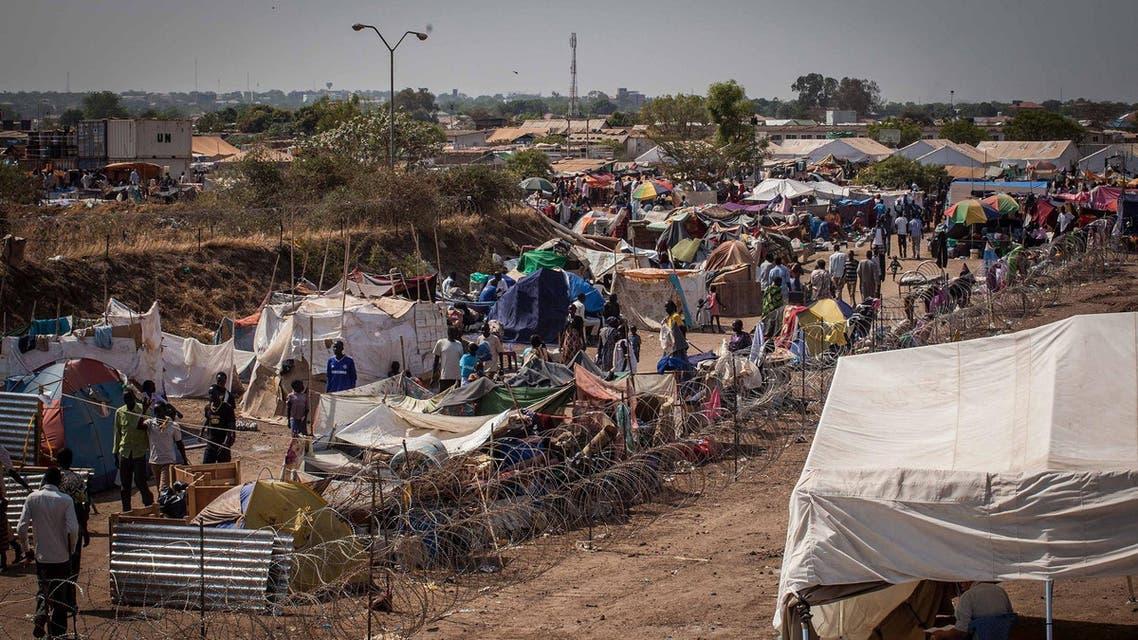 south sudan internally displaced people camp refugees AFP