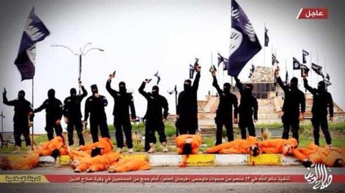 داعش يعدم 13 من حركة فرسان العلم رميا بالرصاص