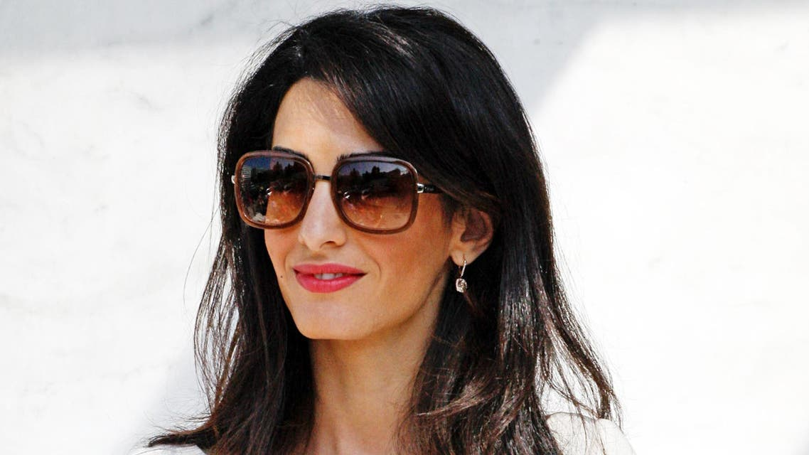 """Walters had picked Amal for the top spot in her """"10 Most Fascinating People of 2014"""" countdown. (Zuma/Rex Features)"""