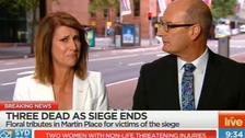 Sydney siege: Watch TV host Natalie Barr break down in tears live on air