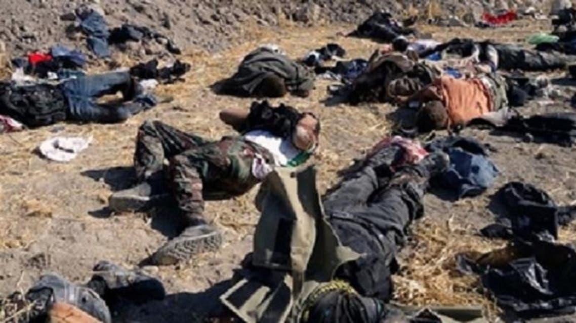 """قتلى """"داعش"""" على جبال العراق"""