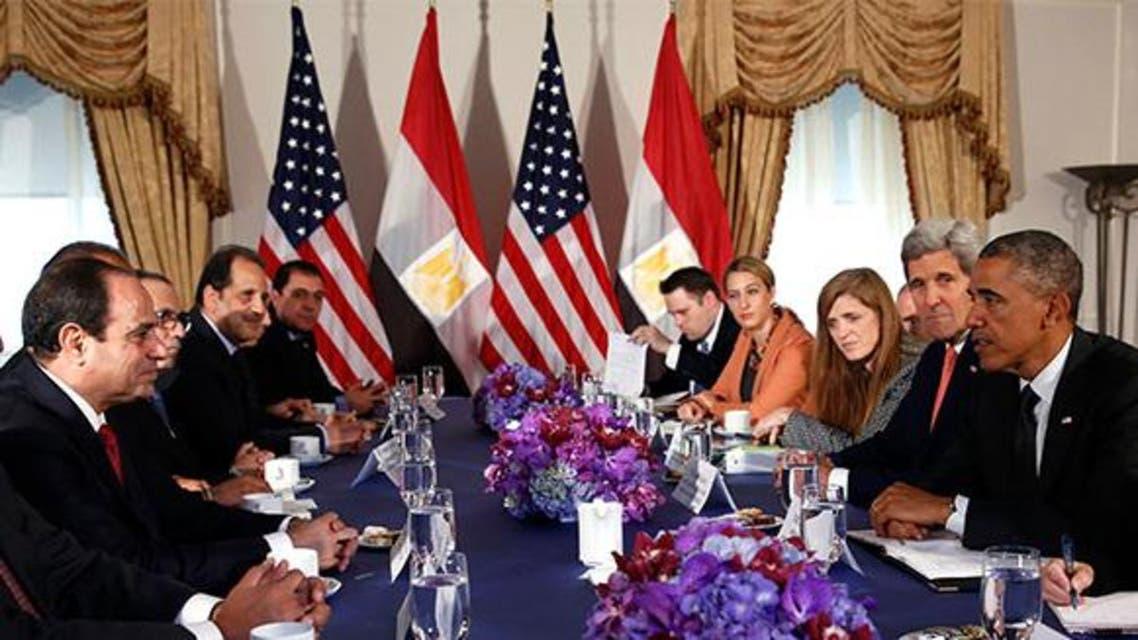 Sisi - Obama