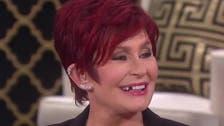 TV host Sharon Osbourne loses a tooth on live TV