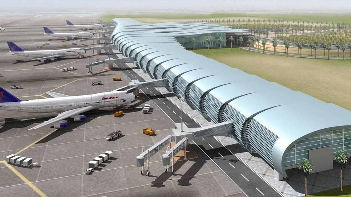 Hurghada airport egypt tourism terminal An official said Egyptian airports are looking to host more than 70 million visitors annually ahead of 2020. (Photo courtesy: adp-i.com)