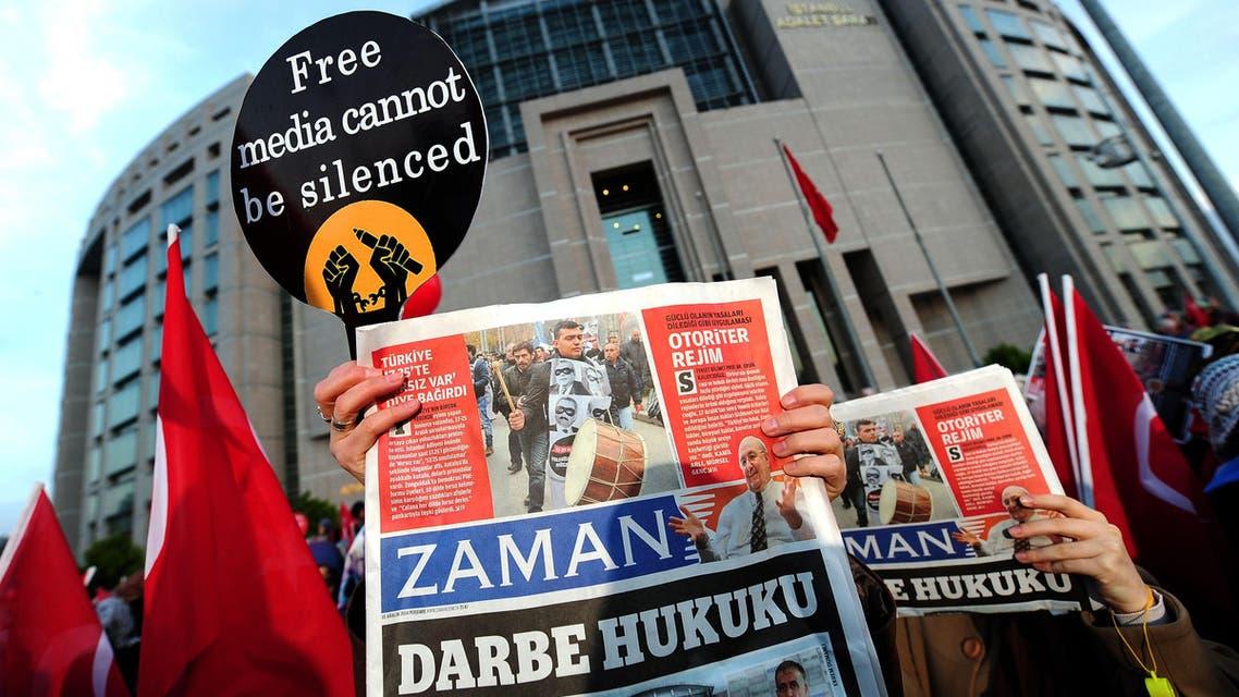 Turkey media Zaman AFP