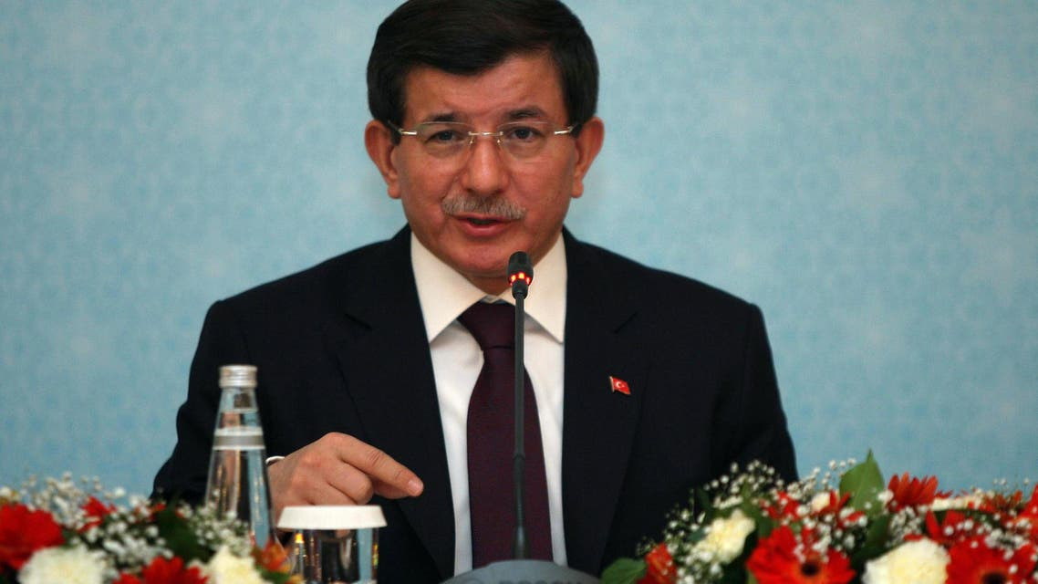 Türkish Prime Minister Ahmet Davutoglu (AFP)