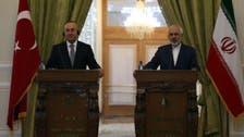 وزير الخارجية التركي يزور إيران ويلتقي بروحاني