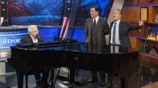 'The Colbert Report' wraps up with a star-studded musical finale