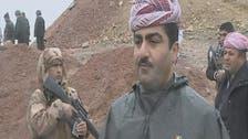 """""""العربية"""" في قلب جبهة القتال بين الأكراد وداعش"""