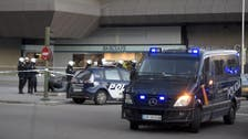 Man drives car into headquarters of Spain's ruling party