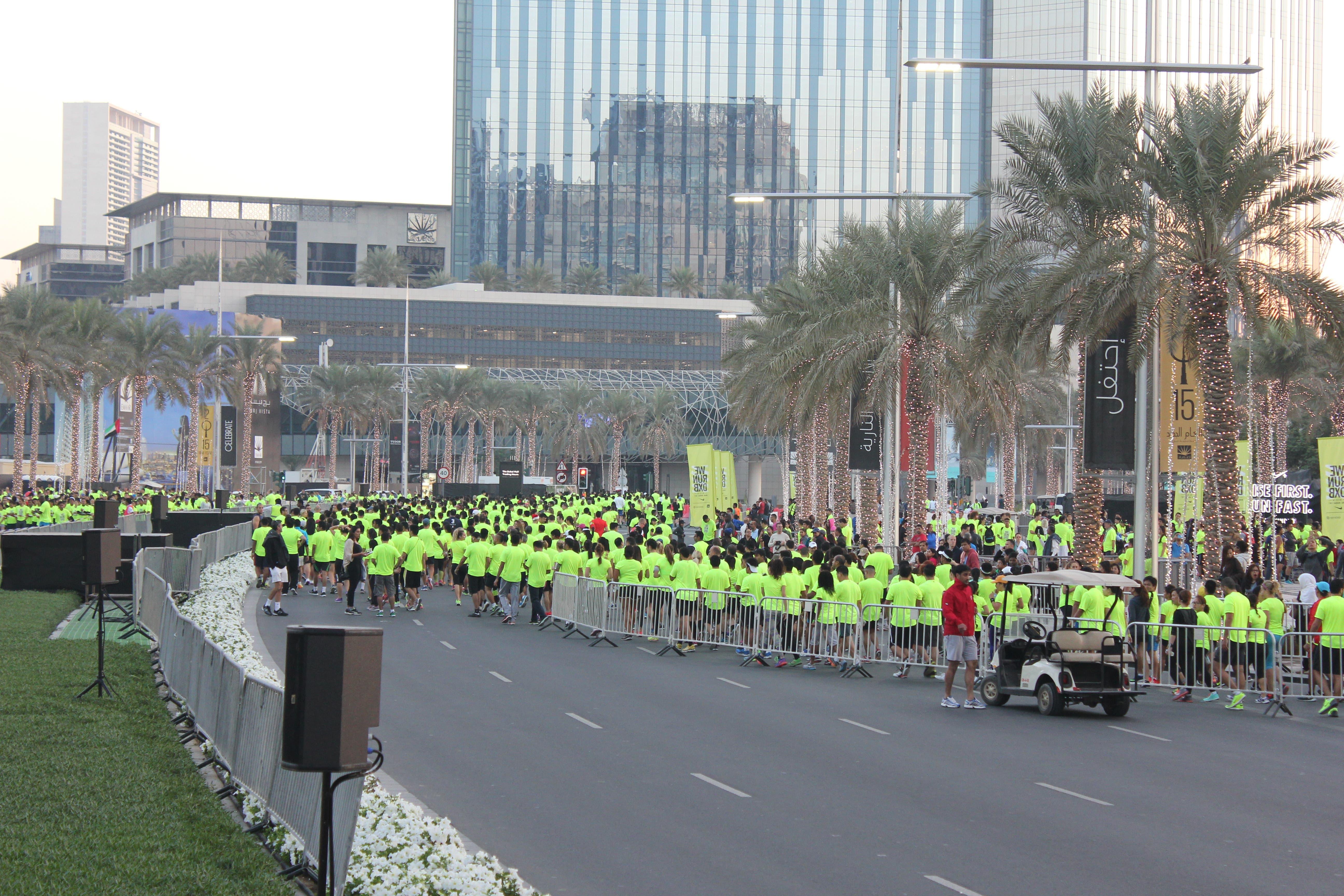 Thousands take on the #WeRunDXB race