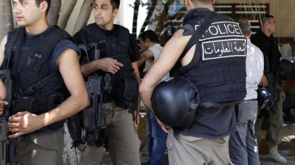 Internal Security Forces raided a home in the Bekaa Valley, arresting seven men. (File photo courtesy: AP)