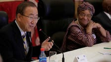 U.N. chief arrives in Guinea on final day of Ebola tour