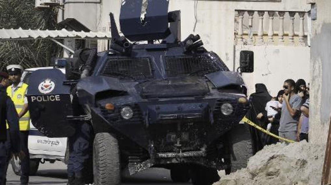 دورية للامن في البحرين الشرطة