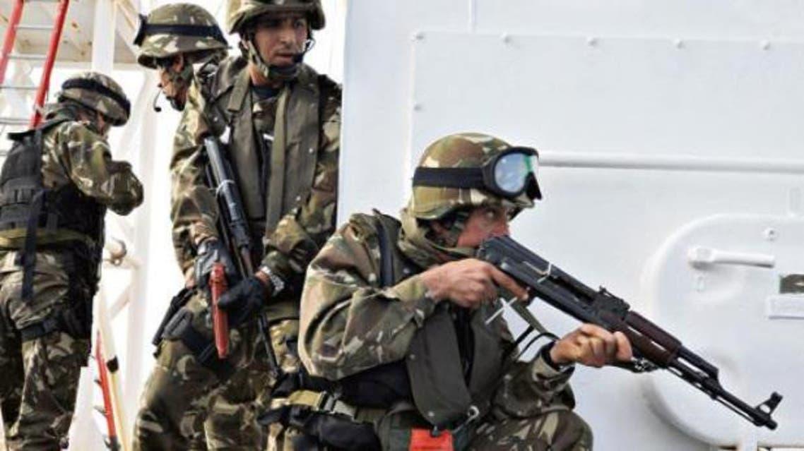 قوات الجيش الجزائري